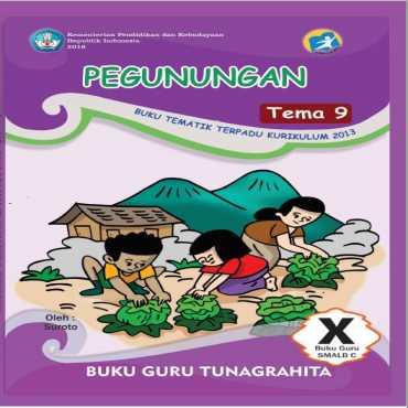 Buku Guru Tema 9 Pegunungan Tunagrahita Suroto