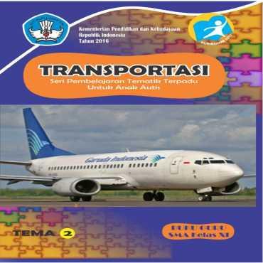 Buku Guru Tema 2 Transportasi Autis