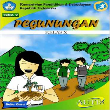 Buku Guru Tema 9 Pegunungan Autis Kasiyaningsih