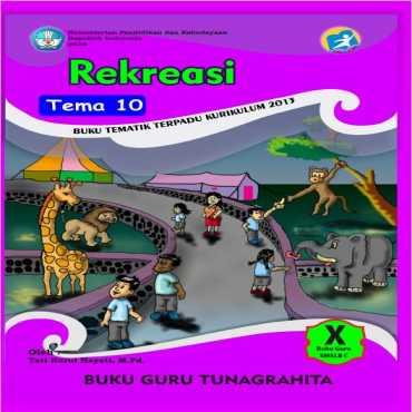 Buku Guru Tema 10 Rekreasi Tunagrahita Tati Nurul