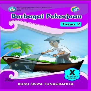 Buku Siswa Tema 2 Berbagai Pekerjaan Tunagrahita Sukotjo