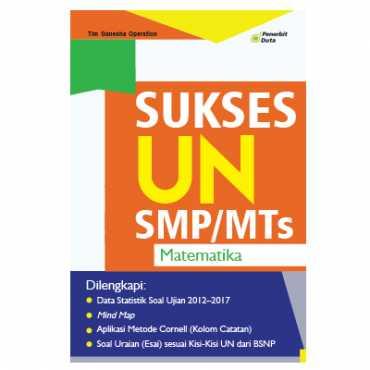 Sukses UN Matematika untuk SMP/MTs