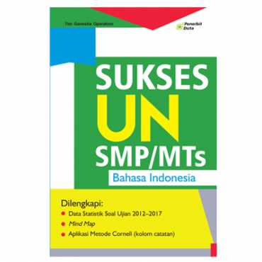 Sukses UN Bahasa Indonesia untuk SMP/MTs