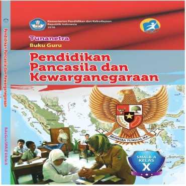 Buku Guru PPKn Tunanetra Nurhastuti