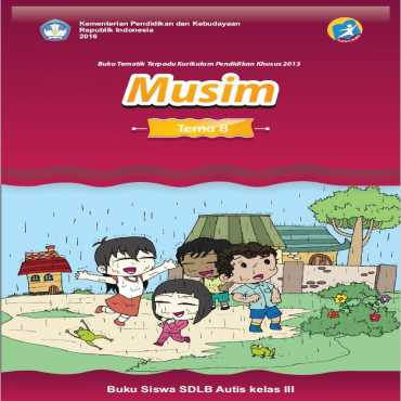 Buku Siswa Kelas III 2016 Autis Tema 8