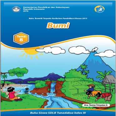 Buku Siswa Kelas III 2016 Tunadaksa Tema 8