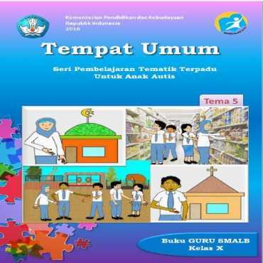 Buku Guru Tema 5 Tempat Umum Autis Sukirno