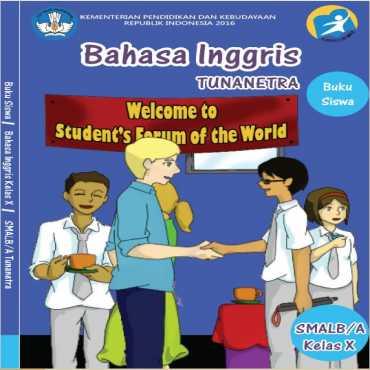 Buku Siswa Bahasa Inggris Tunanetra