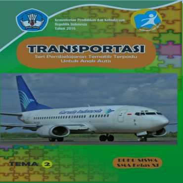 Buku Siswa Tema 2 Transportasi Autis
