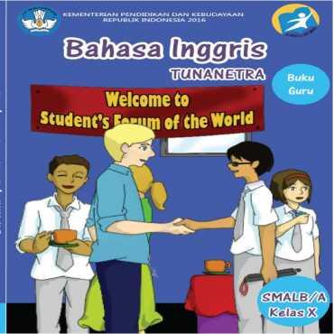 Buku Guru Bahasa Inggris Tunanetra